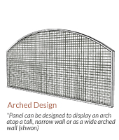 Image of Arched NatureScreen Custom Configuration